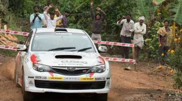 Mike Young, India Rally 2016