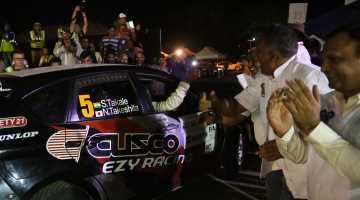 Sanjay Takale,, Rally India 2016