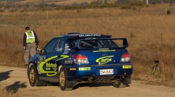 Cody Crocker, Rally Canberra 2008