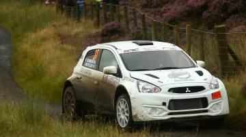 Robert Blomberg, British Rally Championship 2016