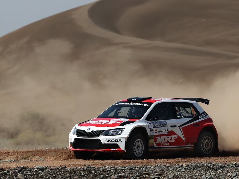 Gaurav Gill, China Rally 2016