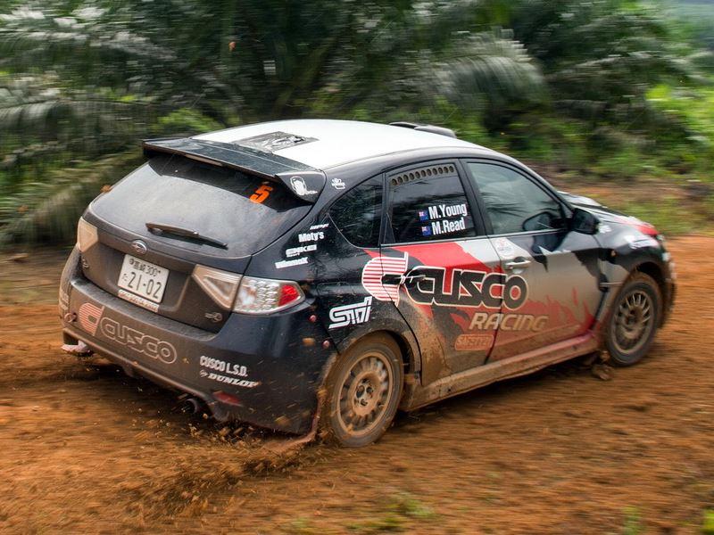 Mike Young, Rally Malaysia 2016