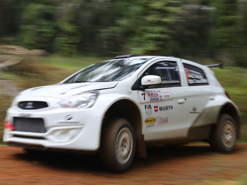 Sunjay Takale, International Rally of Johor 2017