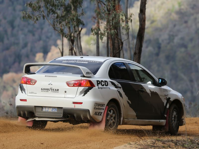 Mike Young, Rally Canberra 2017