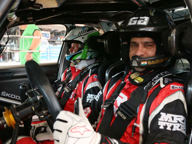 Gaurav Gill and Stephane Prevot, International Rally of Johor 2017