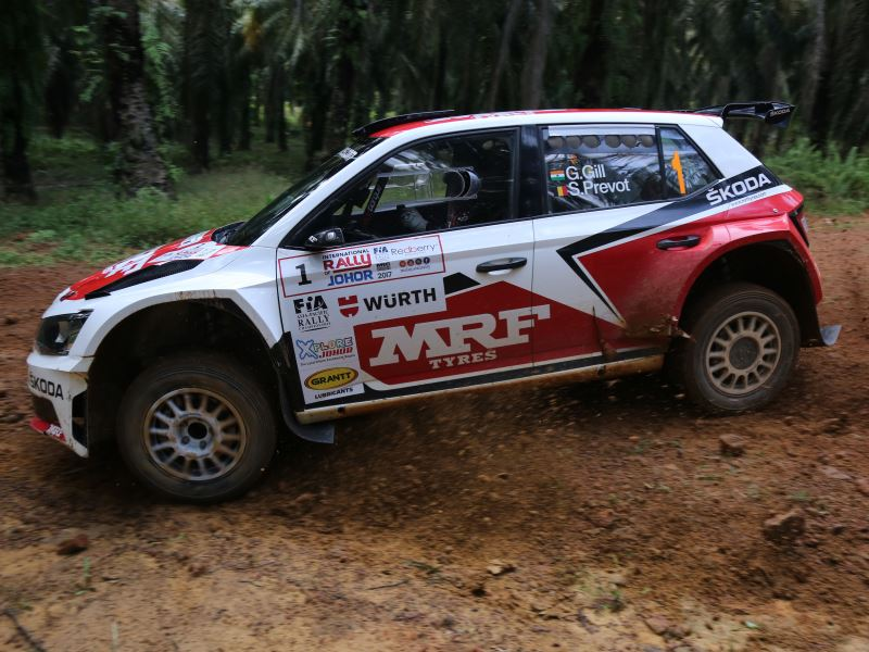 Gaurav Gill, International Rally of Johor 2017