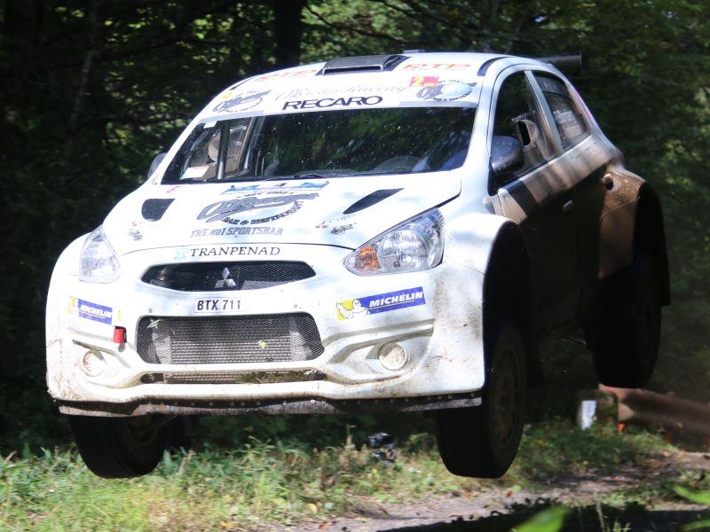 Robert Blomberg, Rally Hokkaido 2017