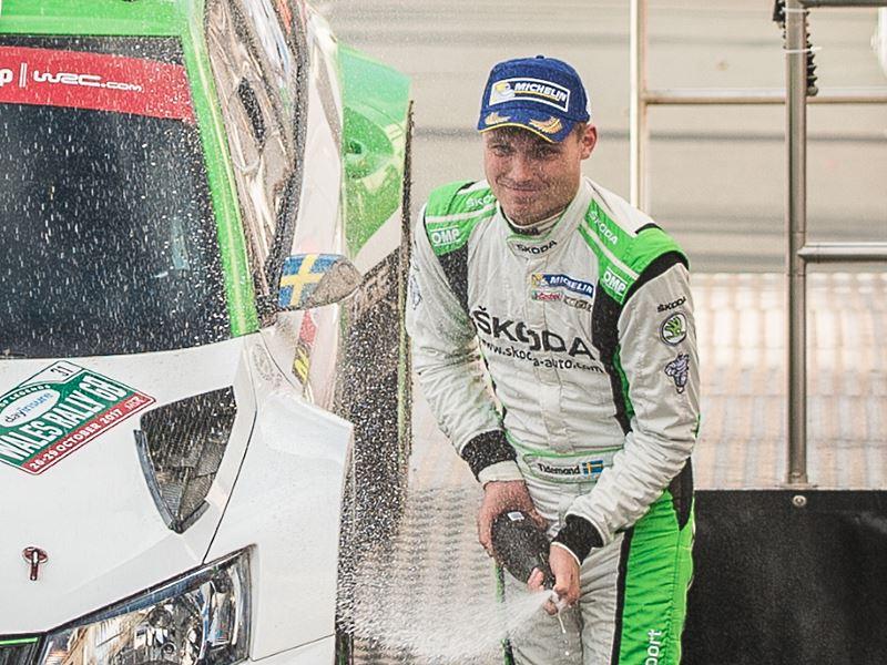 Pontus Tidemand, 2017 Wales Rally GB