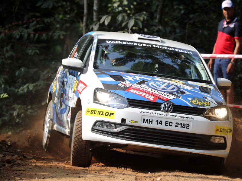 Mike Young, India Rally 2017