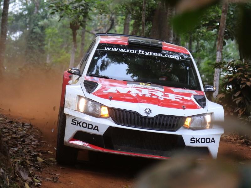 Ole Christian Veiby, India Rally 2017