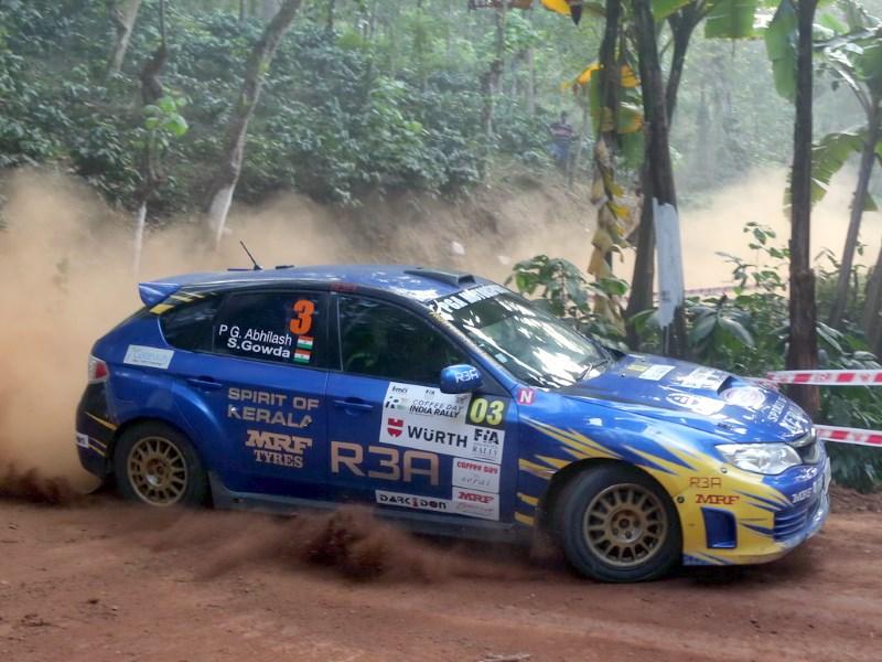 PG Abilash, India Rally 2017