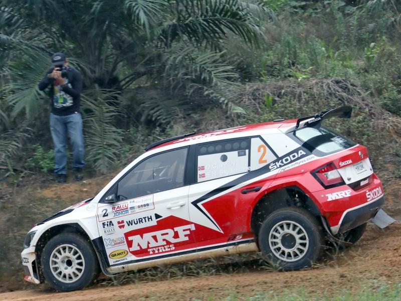 Ole Christian Veiby, Rally Jahor 2017