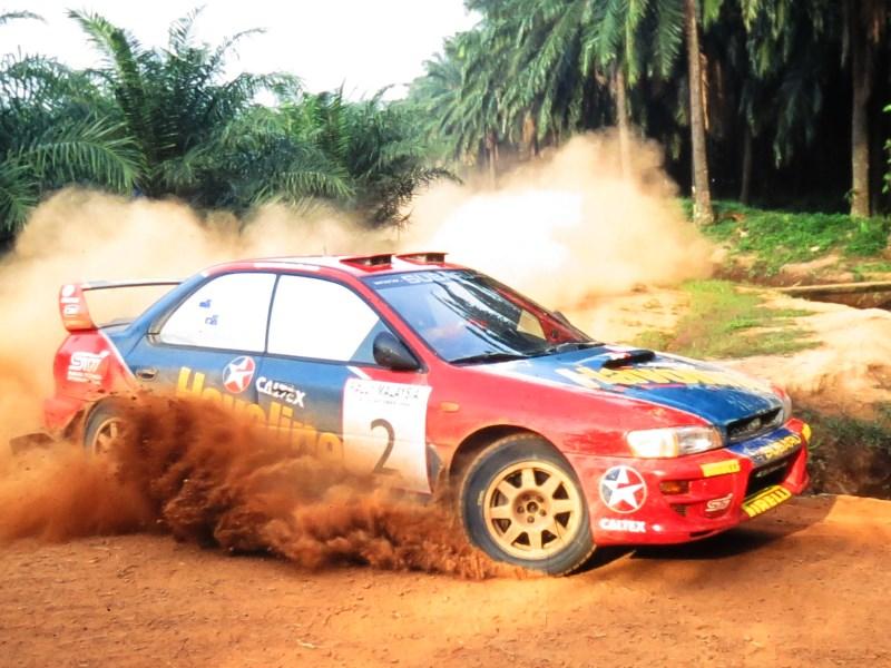Bourne, 2000 Rally Malaysia