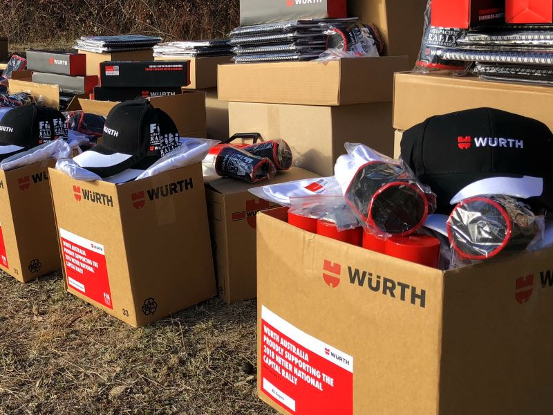 Wurth team kits at Canberra 2018