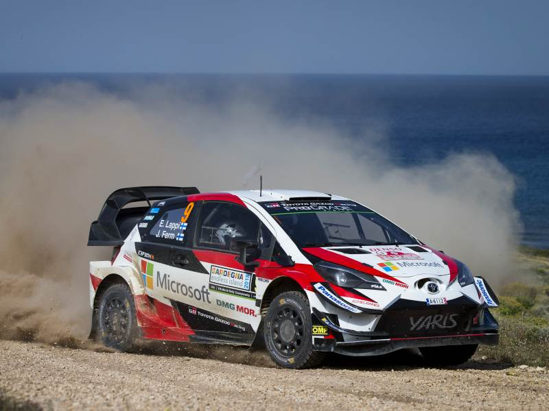 Esapekka Lappi, WRC Italy 2018