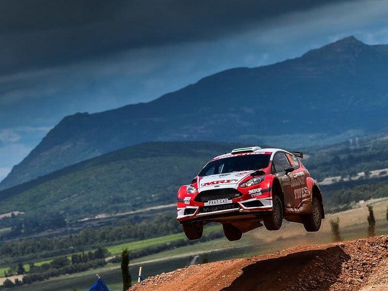 Gaurav Gill, WRC Sardinia 2018