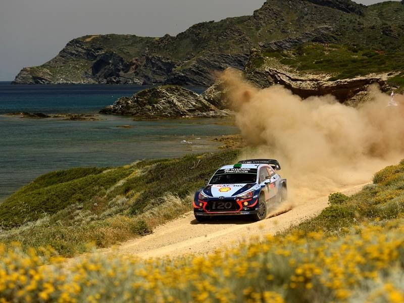 Hayden Paddon, WRC Italy 2018