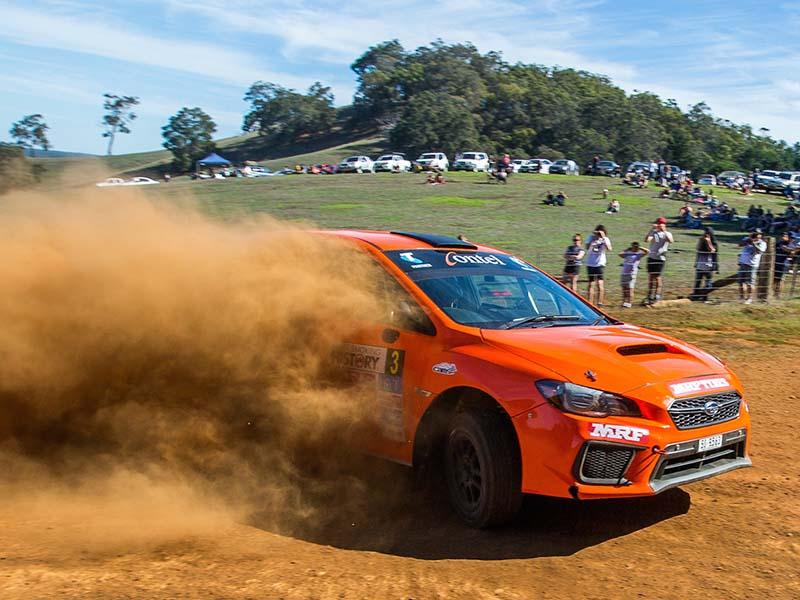 Steve Glenney, 2018 Forest Rally