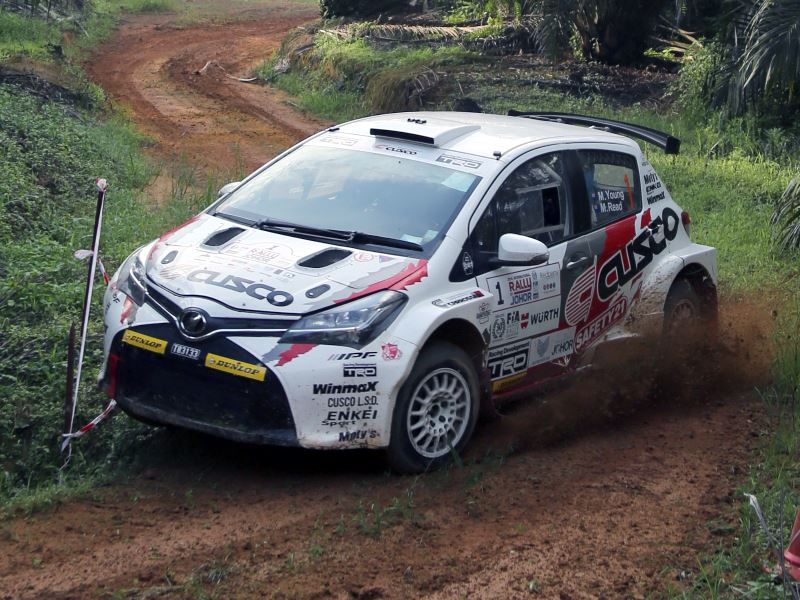 Mike Young, Malaysia Rally 2018