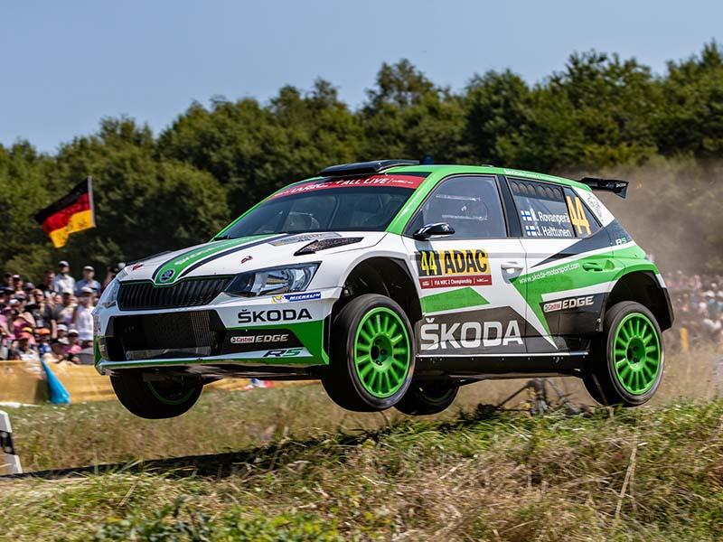 Kalle Rovenpera, 2018 WRC2 Germany