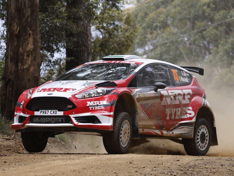 Gaurav Gill, Rally Australia 2018