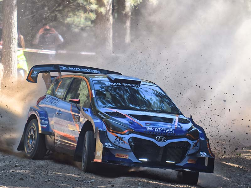 Hayden Paddon, Ashley Forest Rally Sprint 2018, by Ben