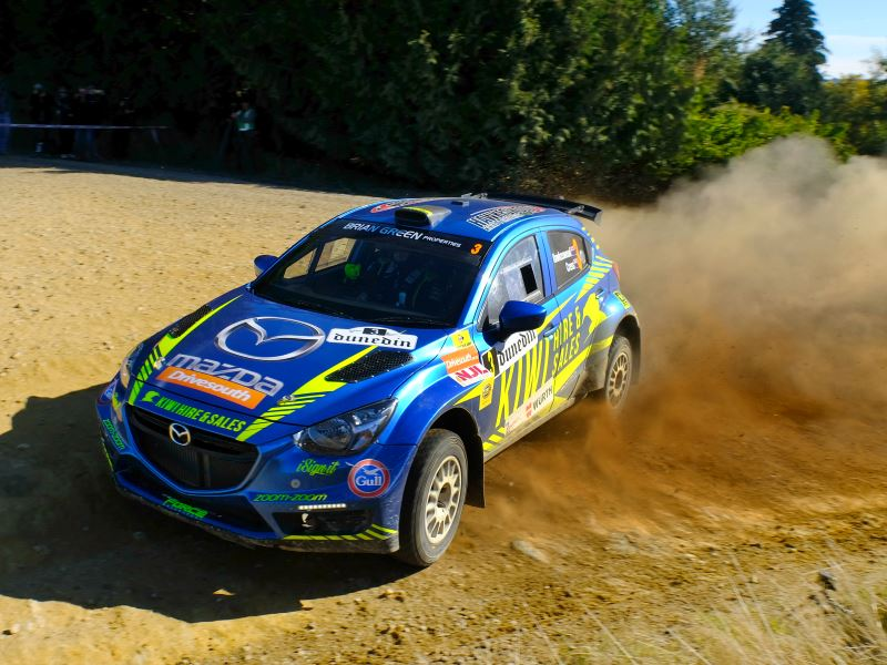 Andrew Hawkeswood, Otago Rally 2019