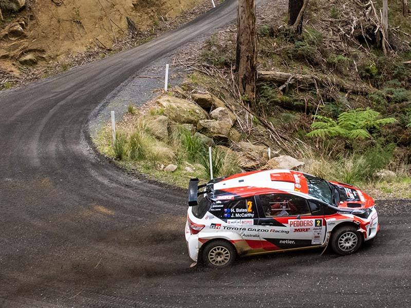 Harry Bates, Eureka Rally 2019