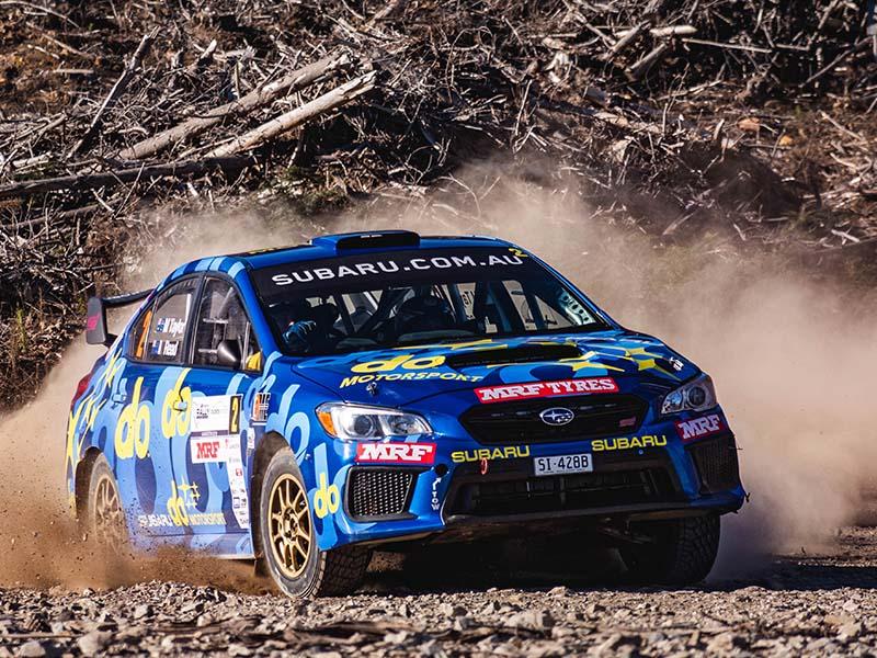 Molly Taylor, Rally Tasmania 2019